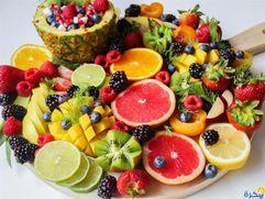 الفواكه والخضراوات