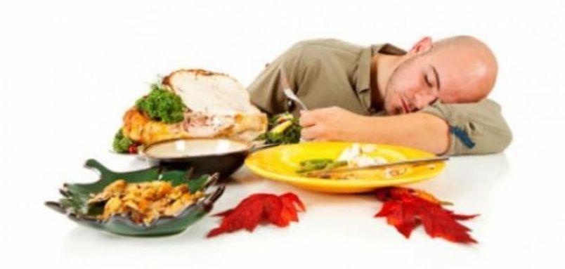 الطعام والنوم