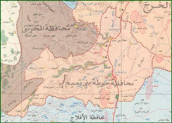 محافظة حوطة بنى تميم